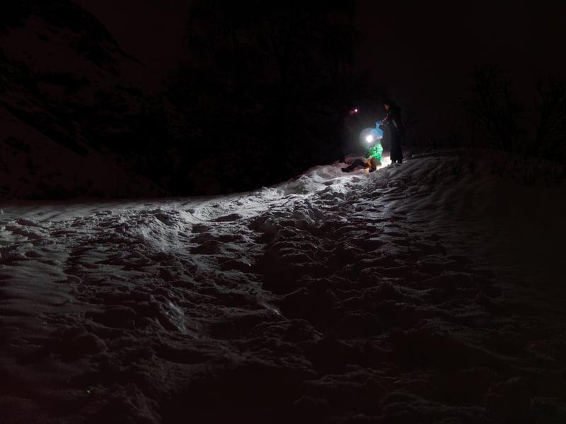 Luge de nuit