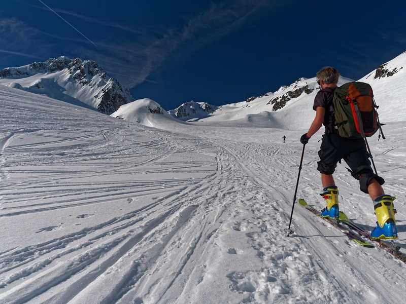 Randonneur à ski