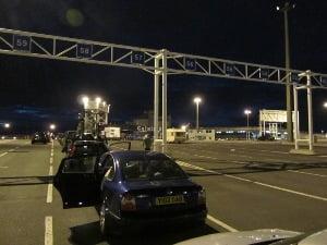 Attente ferry à Calais