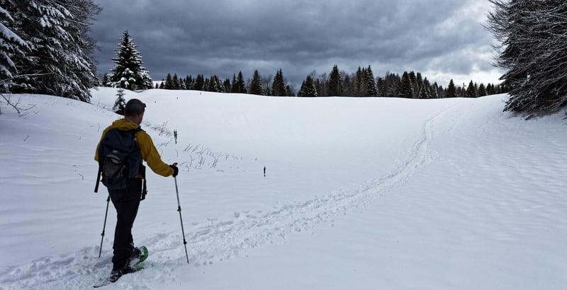 Le Mont-Blanc au fond