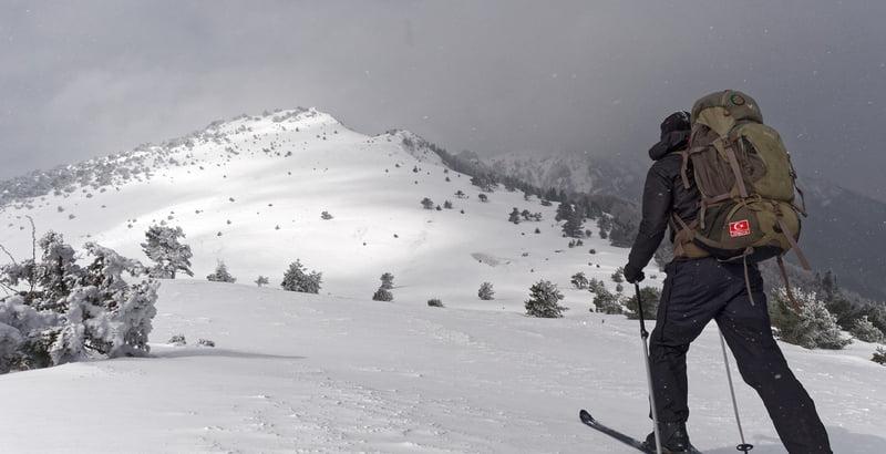 Randonneur a ski